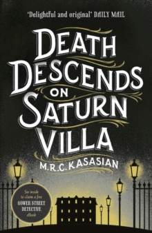 Death Descends on Saturn Villa, Hardback Book