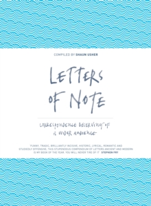 Letters of Note : Correspondence Deserving of a Wider Audience, Hardback Book