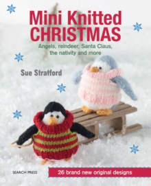 Mini Knitted Christmas, Paperback Book