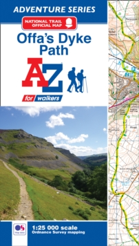 Offa's Dyke Path Adventure Atlas, Paperback / softback Book