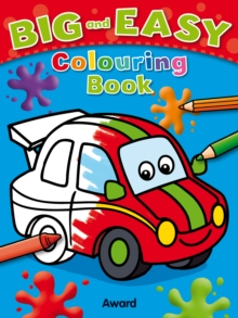 Big & Easy Colouring Books: Car, Paperback / softback Book