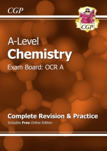 New A-Level Chemistry: OCR A Year 1 & 2 Complete Revision & Practice with Online Edition : Exam Board: OCR A, Paperback Book
