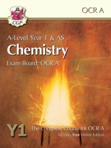 A-Level Chemistry for OCR A: Year 1 & AS Student Book with Online Edition, Paperback / softback Book