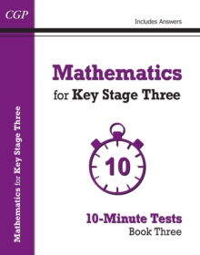 Mathematics for KS3 : 10-Minute Tests Book 3, Paperback / softback Book