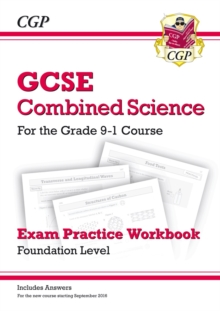 Grade 9-1 GCSE Combined Science: Exam Practice Workbook (with answers) - Foundation, Paperback / softback Book
