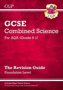 New Grade 9-1 GCSE Combined Science: AQA Revision Guide with Online Edition - Foundation, Paperback / softback Book