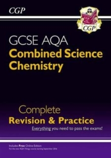 New 9-1 GCSE Combined Science: Chemistry AQA Higher Complete Revision & Practice with Online Edition, Paperback / softback Book