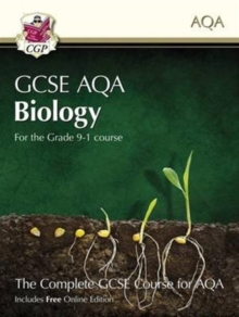 Grade 9-1 GCSE Biology for AQA: Student Book with Online Edition, Paperback / softback Book