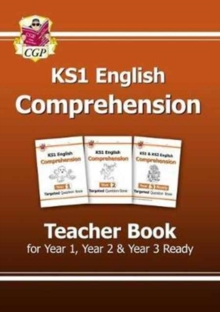 KS1 English Targeted Comprehension: Teacher Book 1 for Year 1, Year 2 & Year 3 Ready, Paperback / softback Book