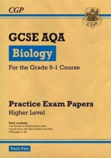 Grade 9-1 GCSE Biology AQA Practice Papers: Higher Pack 2, Paperback / softback Book