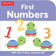 Fisher Price Rainforest Friends Numbers, Board book Book