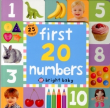 First 20 Numbers, Board book Book