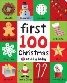 First 100 Christmas, Hardback Book