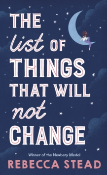 The List of Things That Will Not Change, Hardback Book
