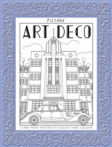 Pictura Prints: Art Deco Patterns : Posters, Paperback Book