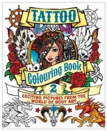 Tattoo Colouring Book 2, Paperback Book