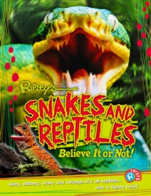 Snakes and Reptiles (Ripley's Twists), Paperback Book