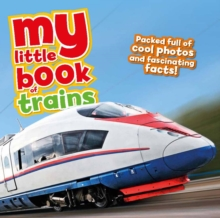 My Little Book of Trains, Hardback Book
