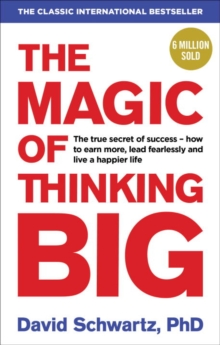 The Magic of Thinking Big, Paperback Book