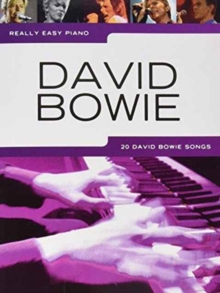 Really Easy Piano : David Bowie, Paperback Book