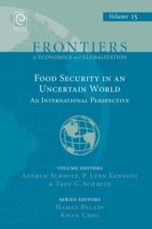 Food Security in an Uncertain World : An International Perspective, Hardback Book