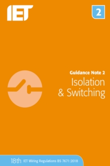 Guidance Note 2: Isolation & Switching, Paperback / softback Book
