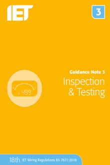Guidance Note 3: Inspection & Testing, Paperback / softback Book