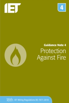 Guidance Note 4: Protection Against Fire, Paperback / softback Book