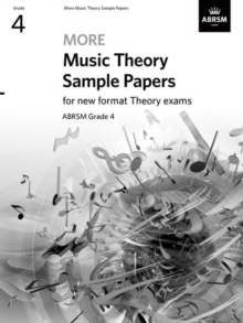 More Music Theory Sample Papers, ABRSM Grade 4, Sheet music Book