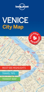 Lonely Planet Venice City Map, Sheet map, folded Book