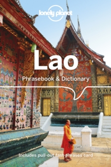 Lonely Planet Lao Phrasebook & Dictionary, Paperback / softback Book