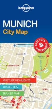 Lonely Planet Munich City Map, Sheet map, folded Book