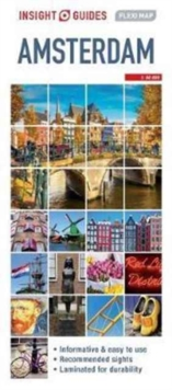 Insight Guides Flexi Map Amsterdam, Sheet map Book