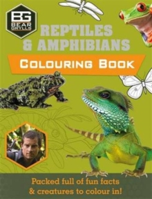 Bear Grylls Colouring Books: Reptiles, Paperback Book