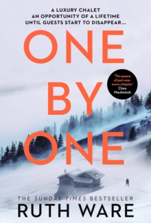 One by One : The snowy new thriller from the queen of the modern-day murder mystery, Hardback Book