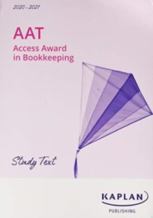 LEVEL 1 ACCESS AWARD IN BOOKKEEPING - TEXT/WORKBOOK