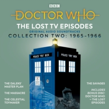Doctor Who: The Lost TV Episodes Collection Two : 1st Doctor TV Soundtracks, CD-Audio Book