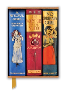 Bodleian Libraries: Book Spines Great Girls (Foiled Journal), Notebook / blank book Book