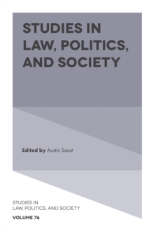 Studies in Law, Politics, and Society, Hardback Book