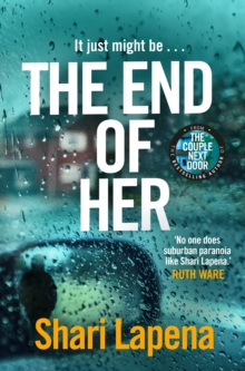 The End of Her, Hardback Book
