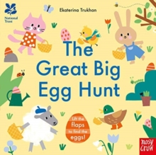 National Trust: The Great Big Egg Hunt, Board book Book