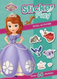 SOFIA THE FIRST STICKER PLAY ROYAL ACTIV,  Book