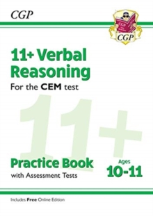 11+ CEM Verbal Reasoning Practice Book & Assessment Tests - Ages 10-11 (with Online Edition)