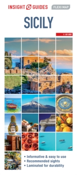 Insight Guides Flexi Map Sicily (Insight Maps), Sheet map Book