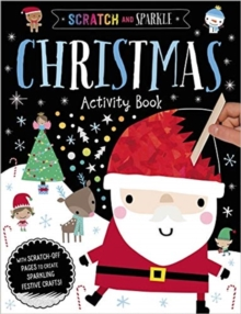 Scratch and Sparkle Christmas Activity Book, Paperback / softback Book