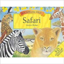 Maurice Pledger Sounds of the Wild : Safari (8 Spreads Version), Hardback Book