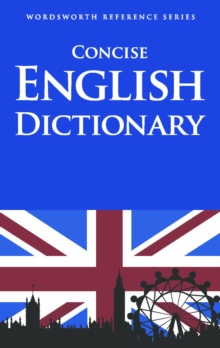 Concise English Dictionary, Paperback Book
