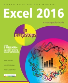 Excel 2016 in Easy Steps, Paperback Book