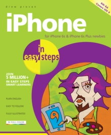 iPhone in Easy Steps : Covers iOS 9, Paperback Book