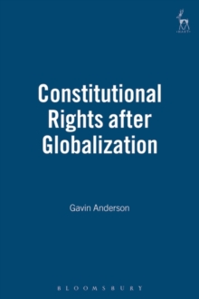 Constitutional Rights After Globalization, Hardback Book